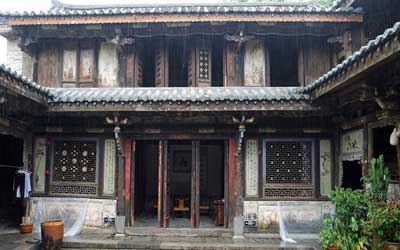 Tuanshan village is famed for its architecture